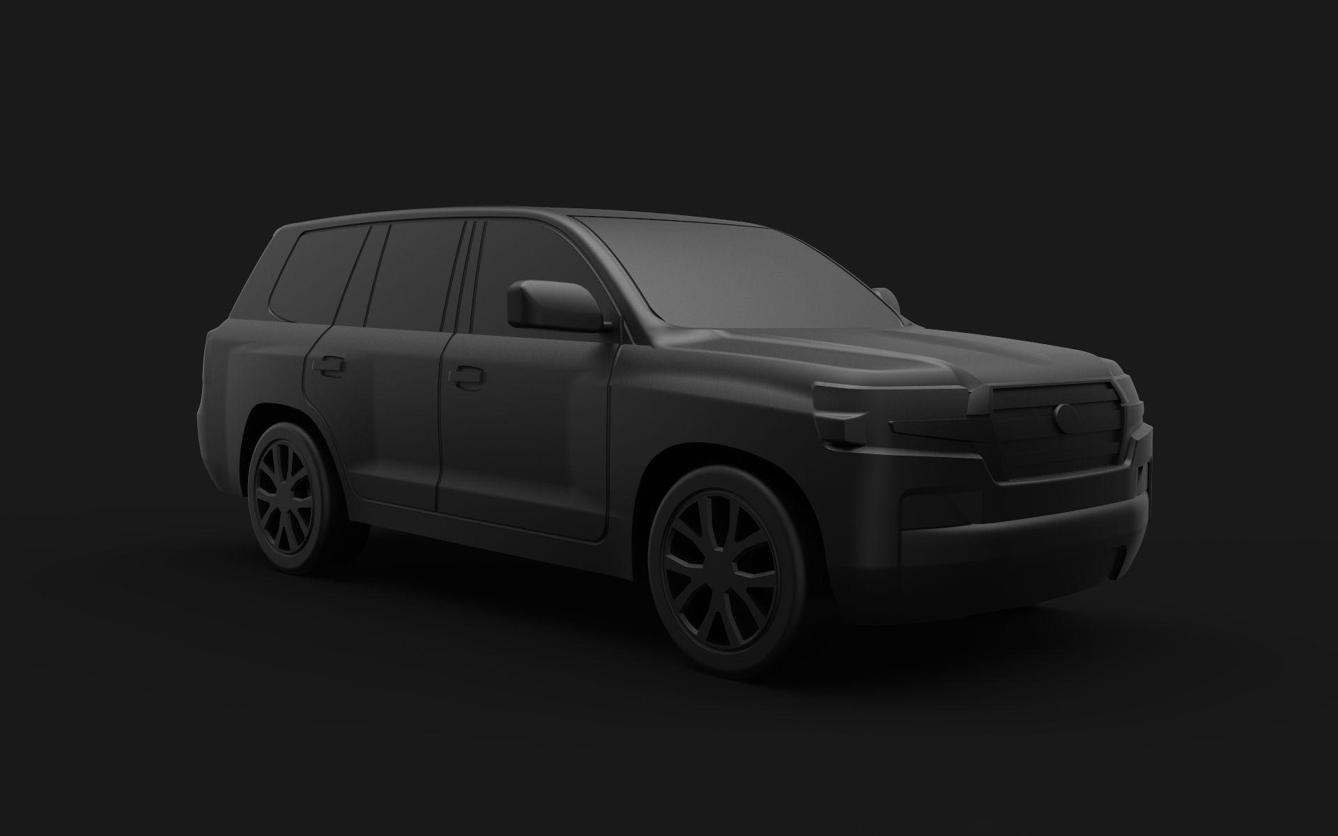 Toyota Land Cruiser 200 3D print model