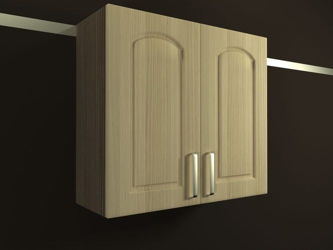 3d kitchen cabinet 720 800mm cgtrader for Kitchen cabinets 800mm
