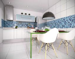 sketchup kitchen 3D model