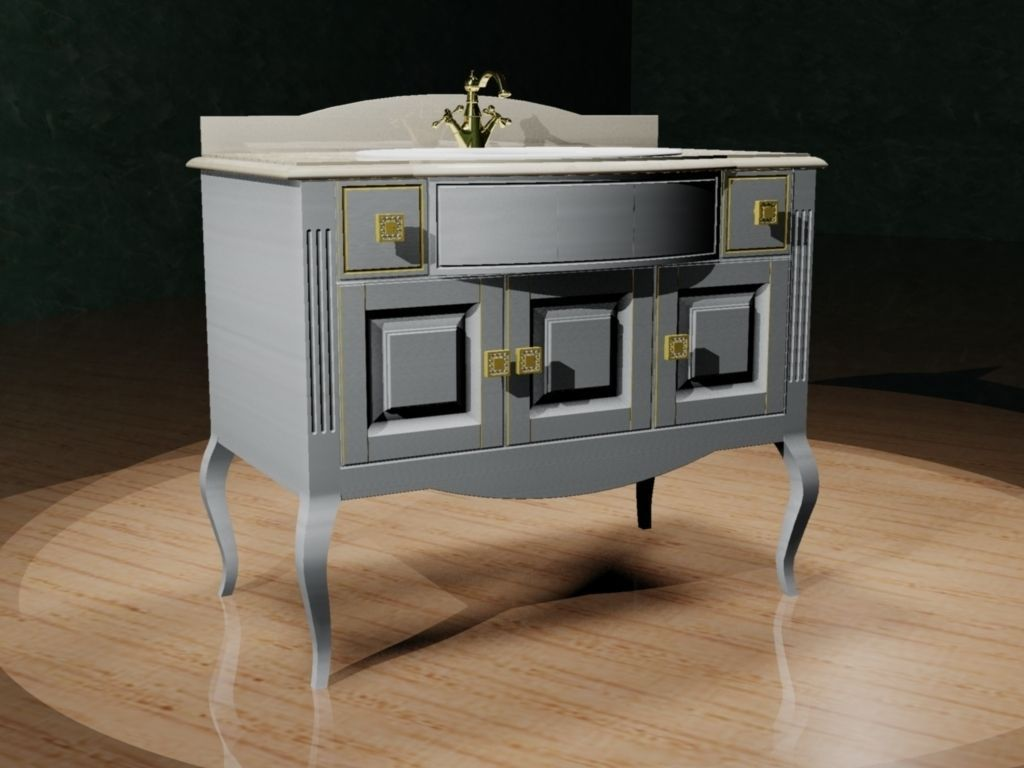 chest of drawers with a sink