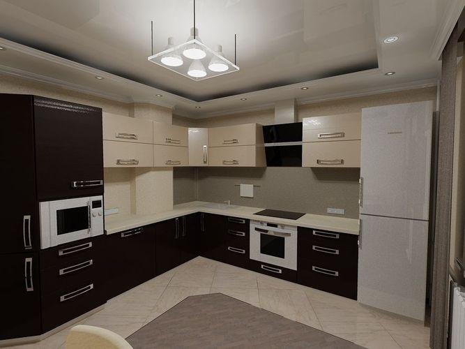 kitchen 3d model obj mtl dwg 1