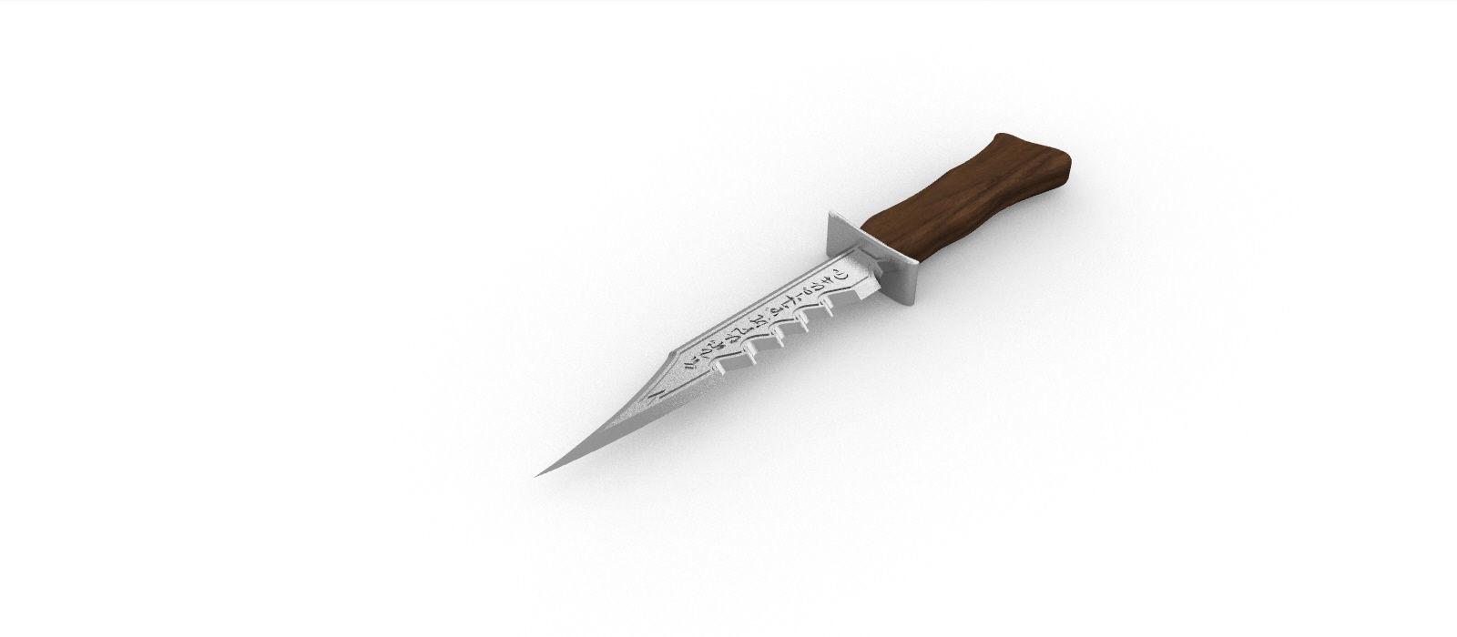 Demon Blade Supernatural -STL File