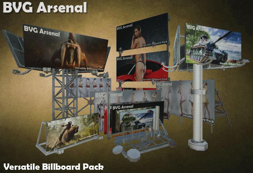 Modular Billboard Pack 02