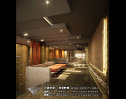 3d detailed architectural interior  81