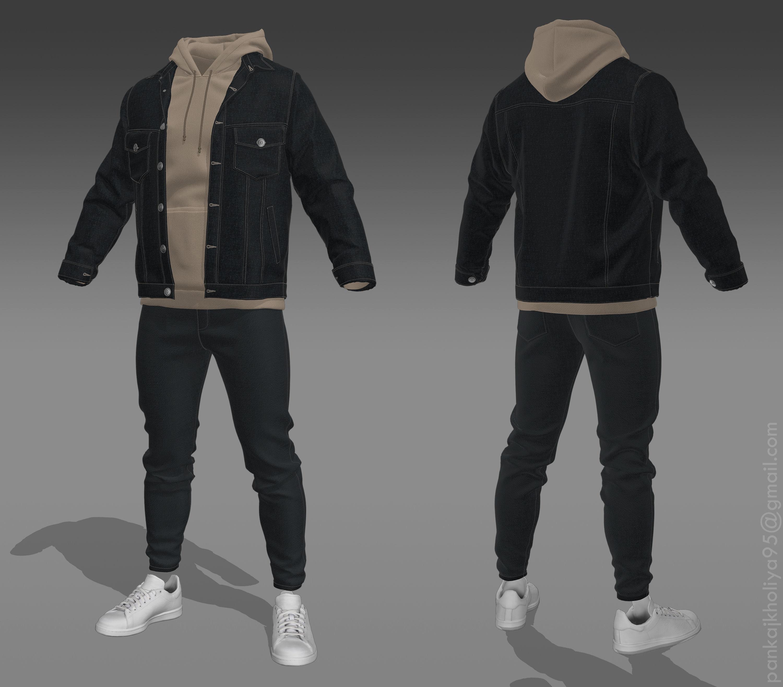 Jacket-Hoodie