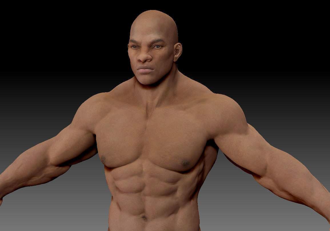 Male body 05