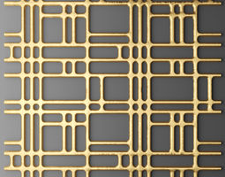 3D Panel lattice 7