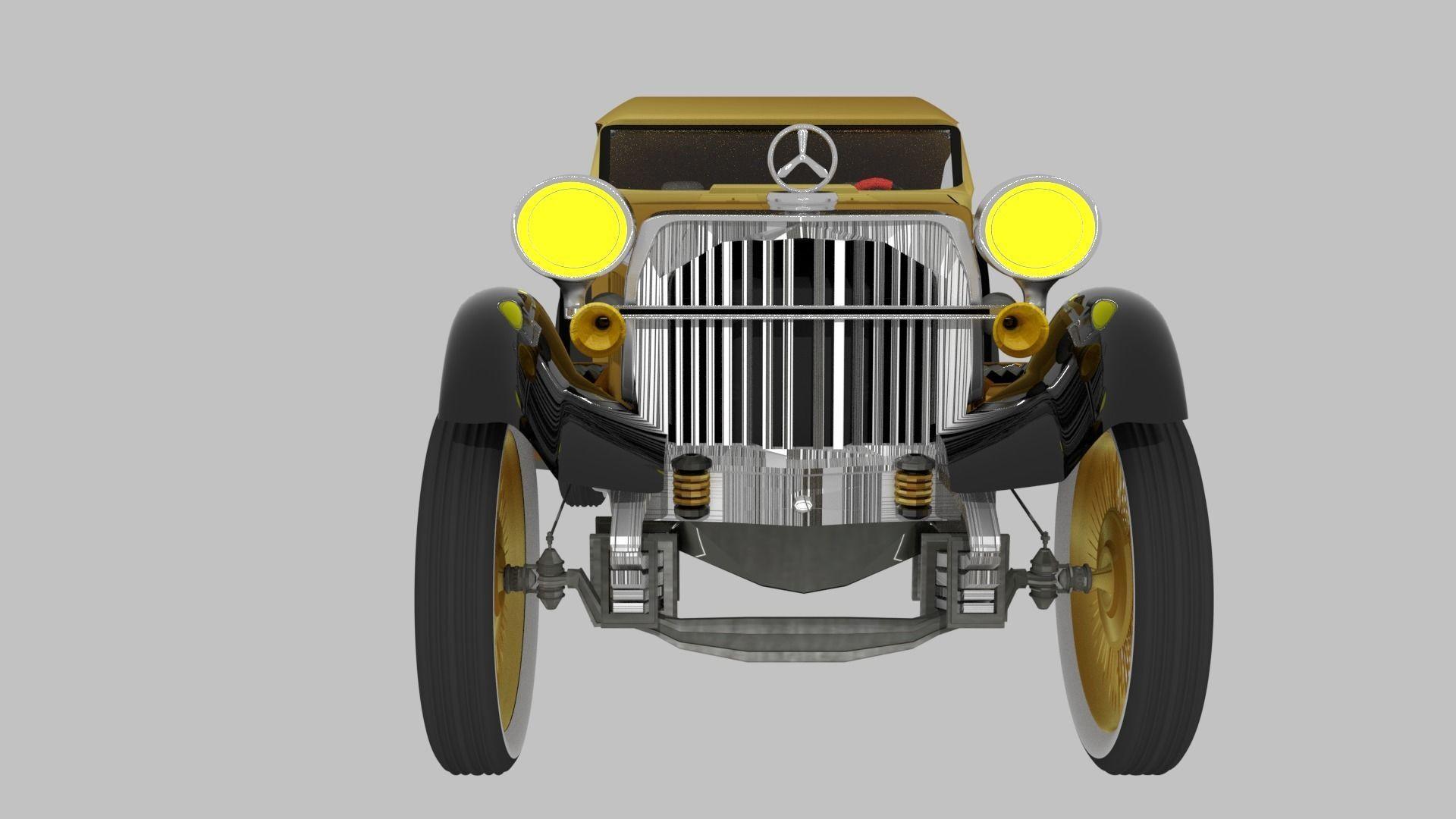 ROADSTER 3D CAR MODEL