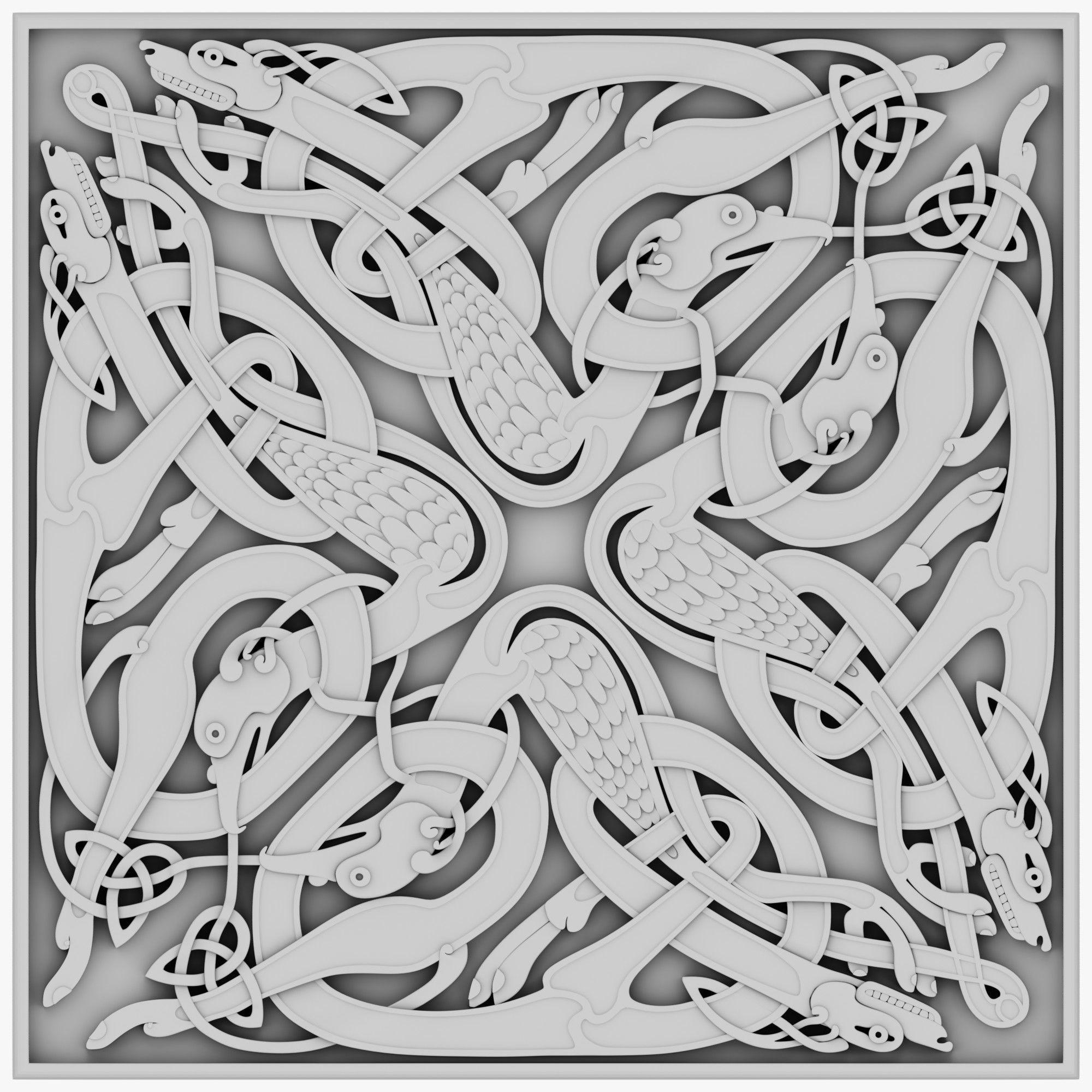 Celtic Ornament 16