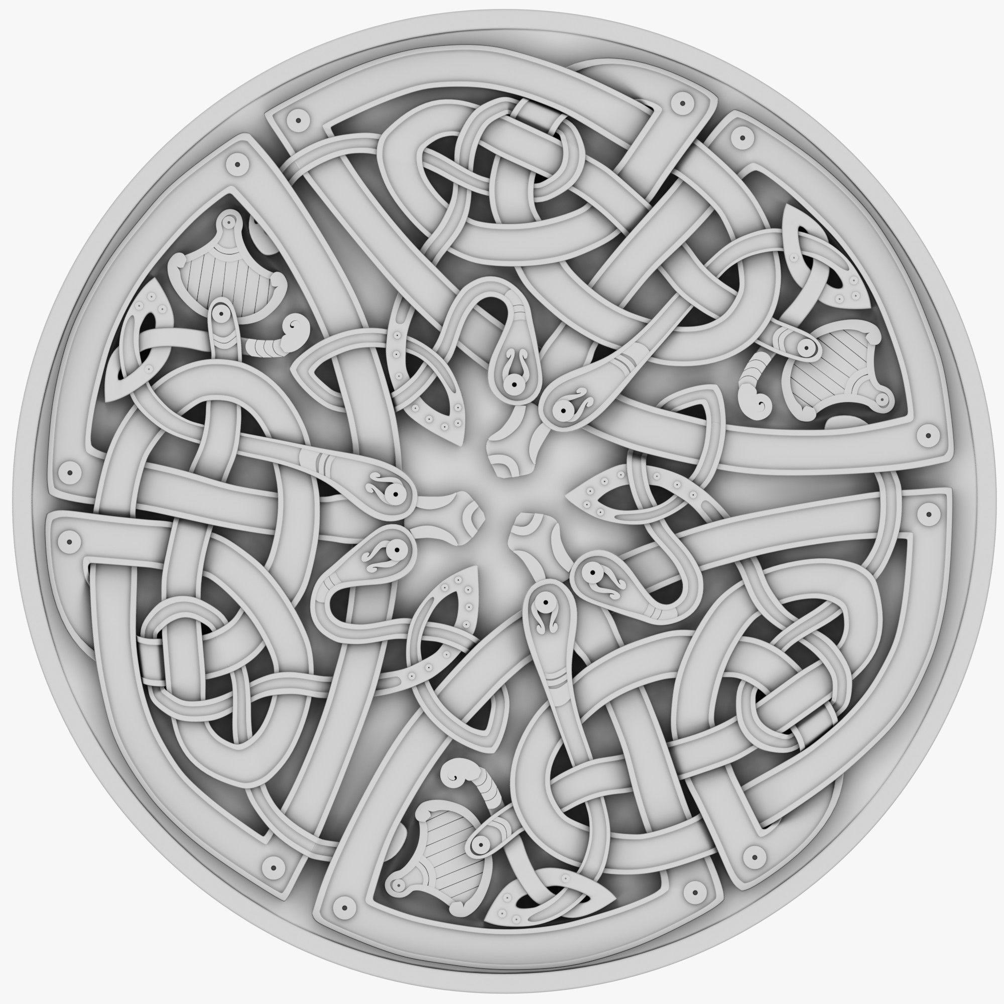 Celtic Ornament 25