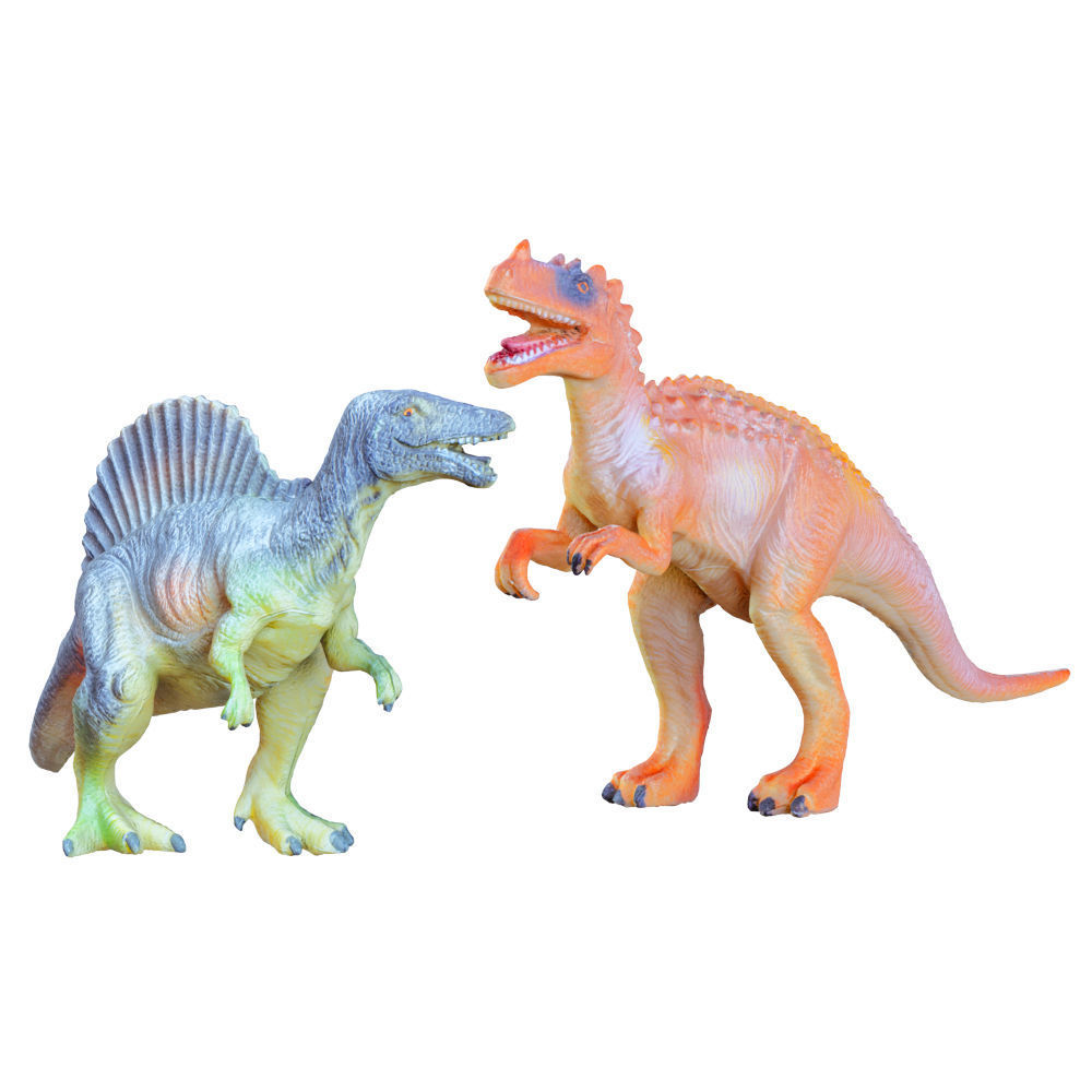 Two Toys Dinosaurs Spinosaurus and Ceratosaurus