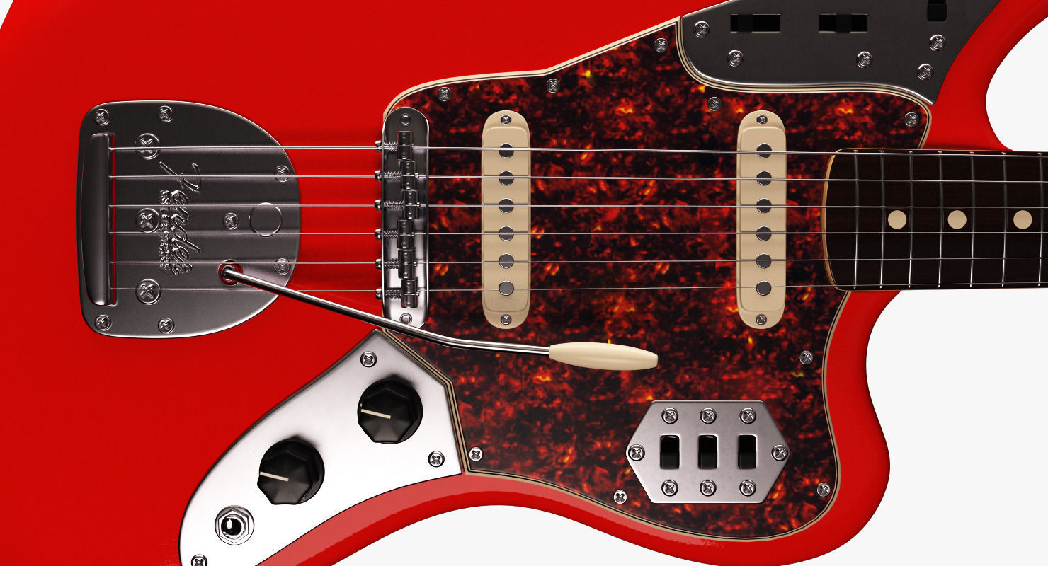 bridge fender mastery squire electric offset upgraded modified product jaguar guitar
