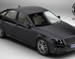 generic car luxury class 3d model max obj 3ds fbx c4d lwo lw lws