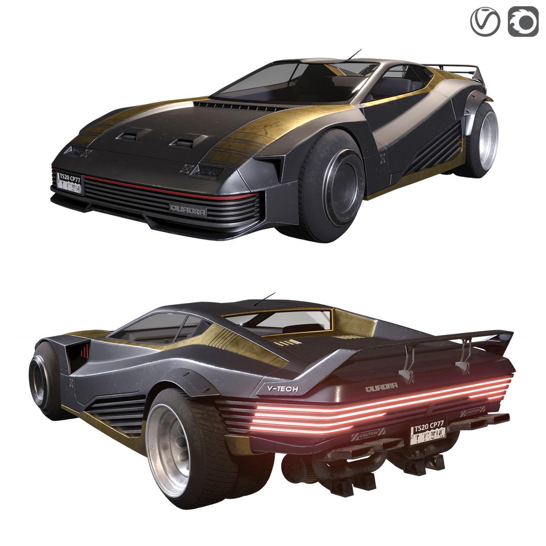 Quadra V-Tech from Cyberpunk 2077
