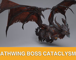 WOW DEATHWING CATACLYSM 3D Model