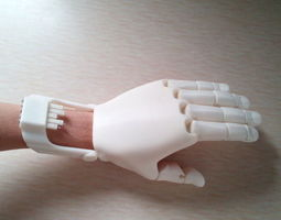 ihand pro 3d printable model