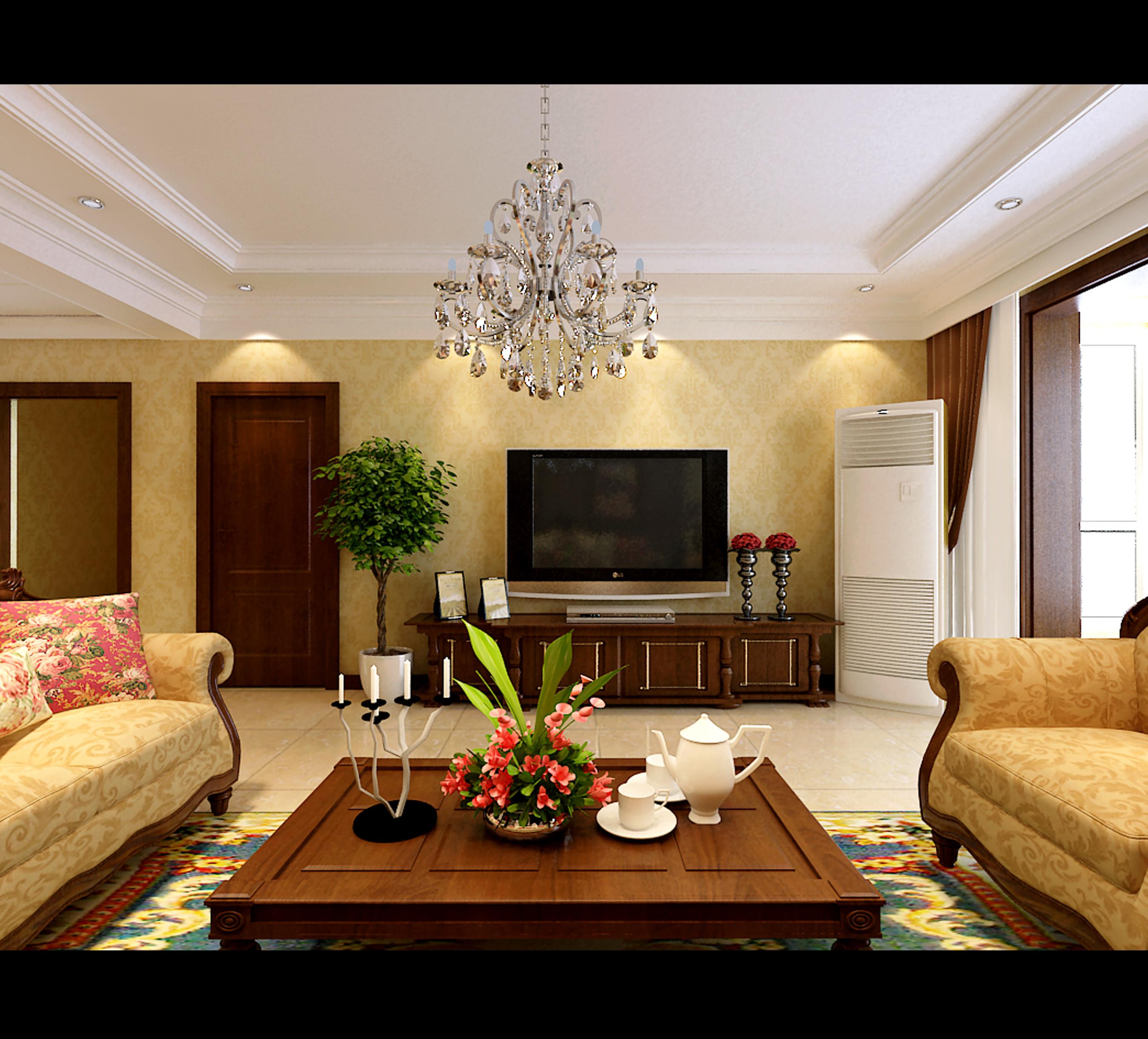 3D model deluxe Deluxe Living Room   CGTrader