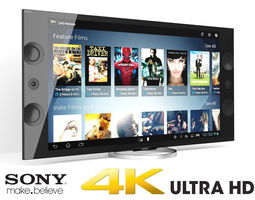 3D Sony XBR 4K Ultra HD TV