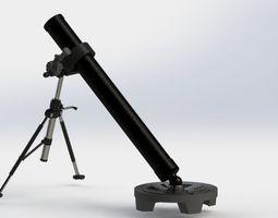 3D model Military Mortar
