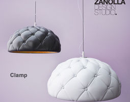 3d model enrico zanolla clamp lamp