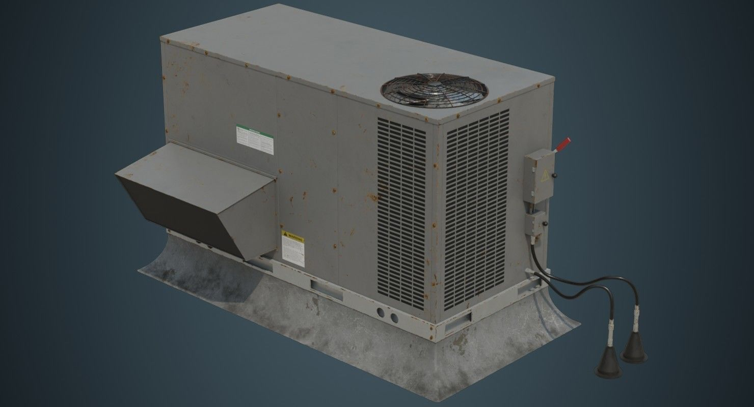 Rooftop AC Unit 2B