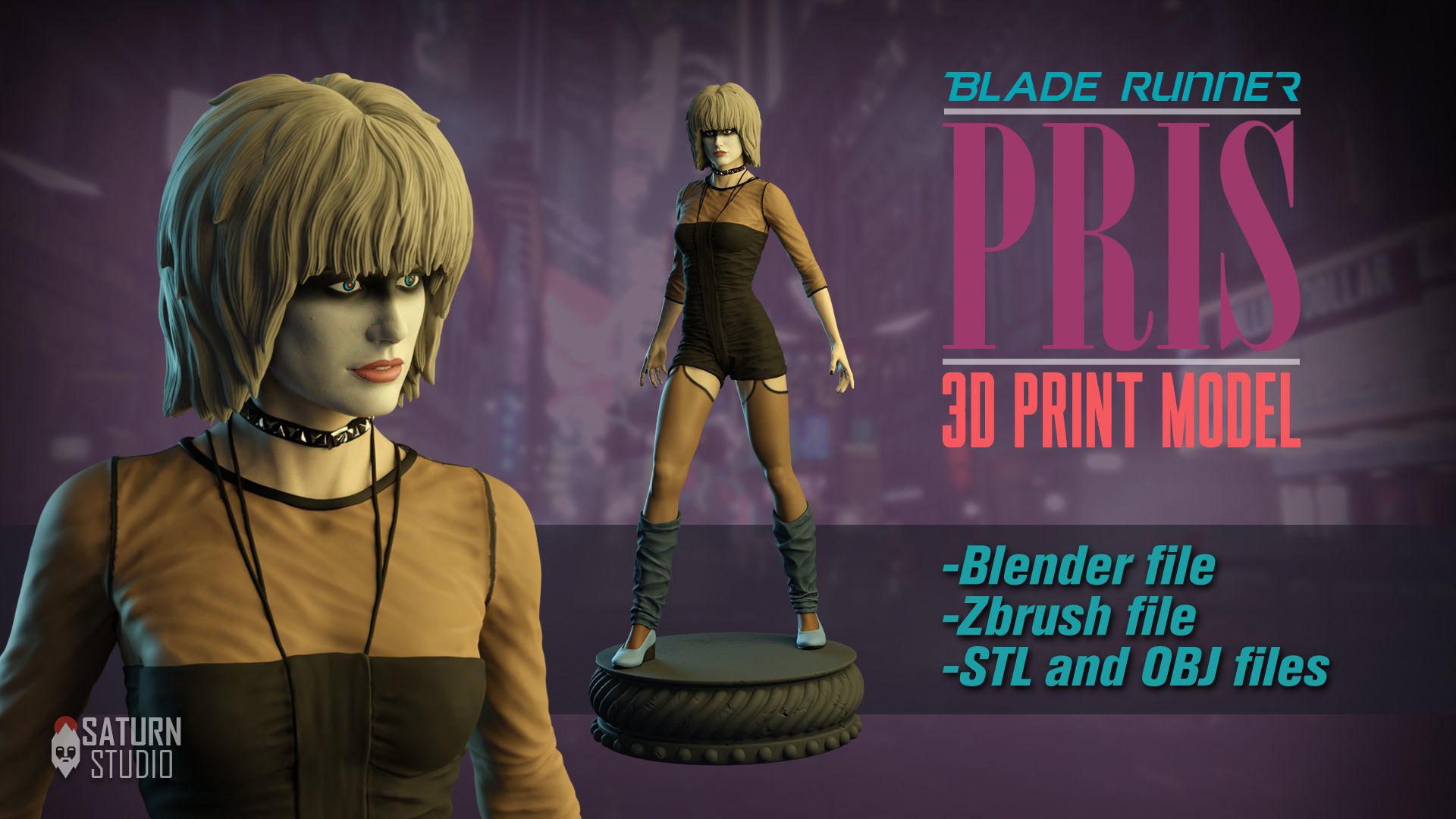 PRIS BLADE RUNNER 3D PRINT MODEL