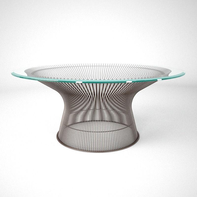 Knoll Platner Coffee Tables 3d Model Max Obj Fbx 4