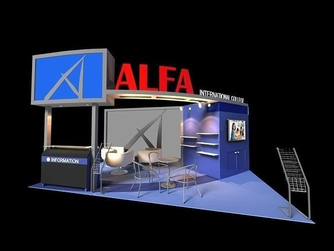 Alfa International College 3 x 6 Booth