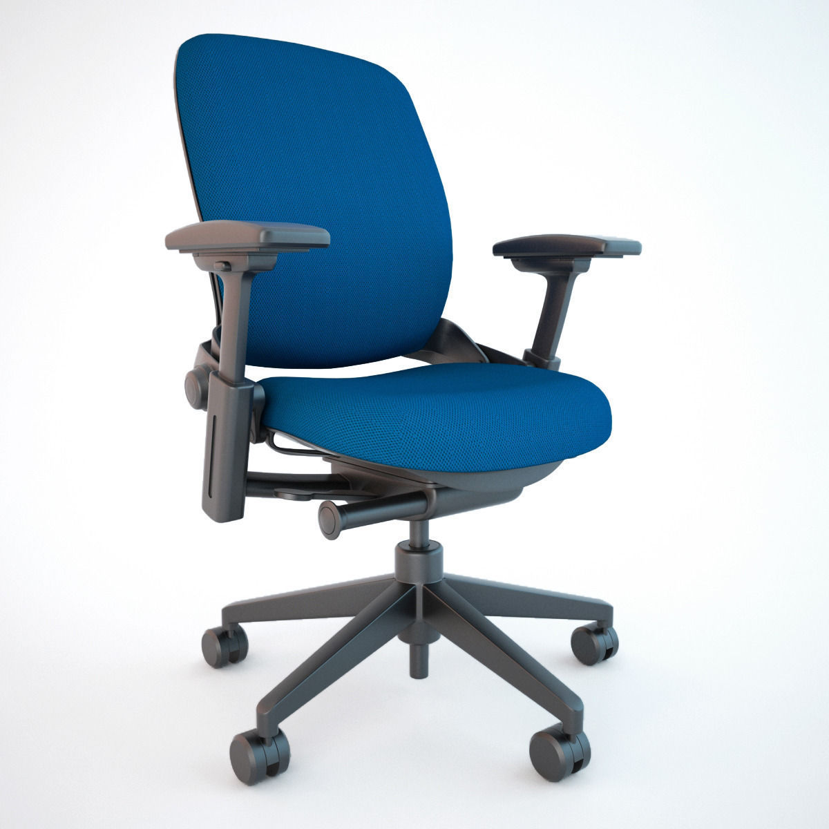 Leap Chair By Steelcase steelcase leap office chair 3d model | cgtrader