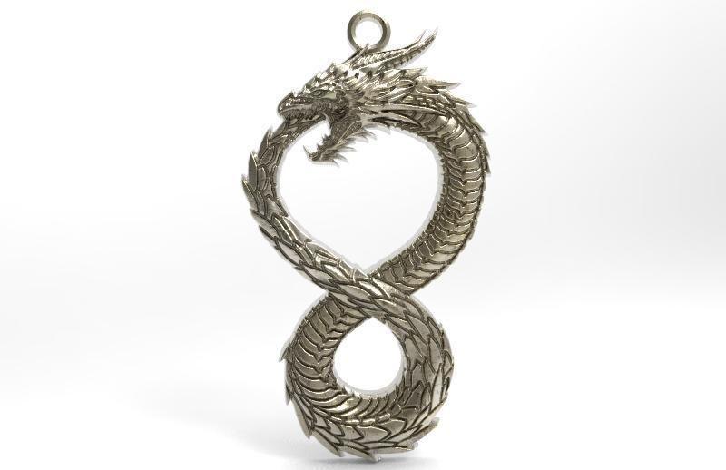 Dragon pendant 5