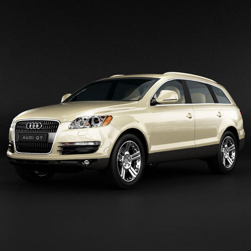 Price For Audi Suv: Audi Q7 SUV 3D Model