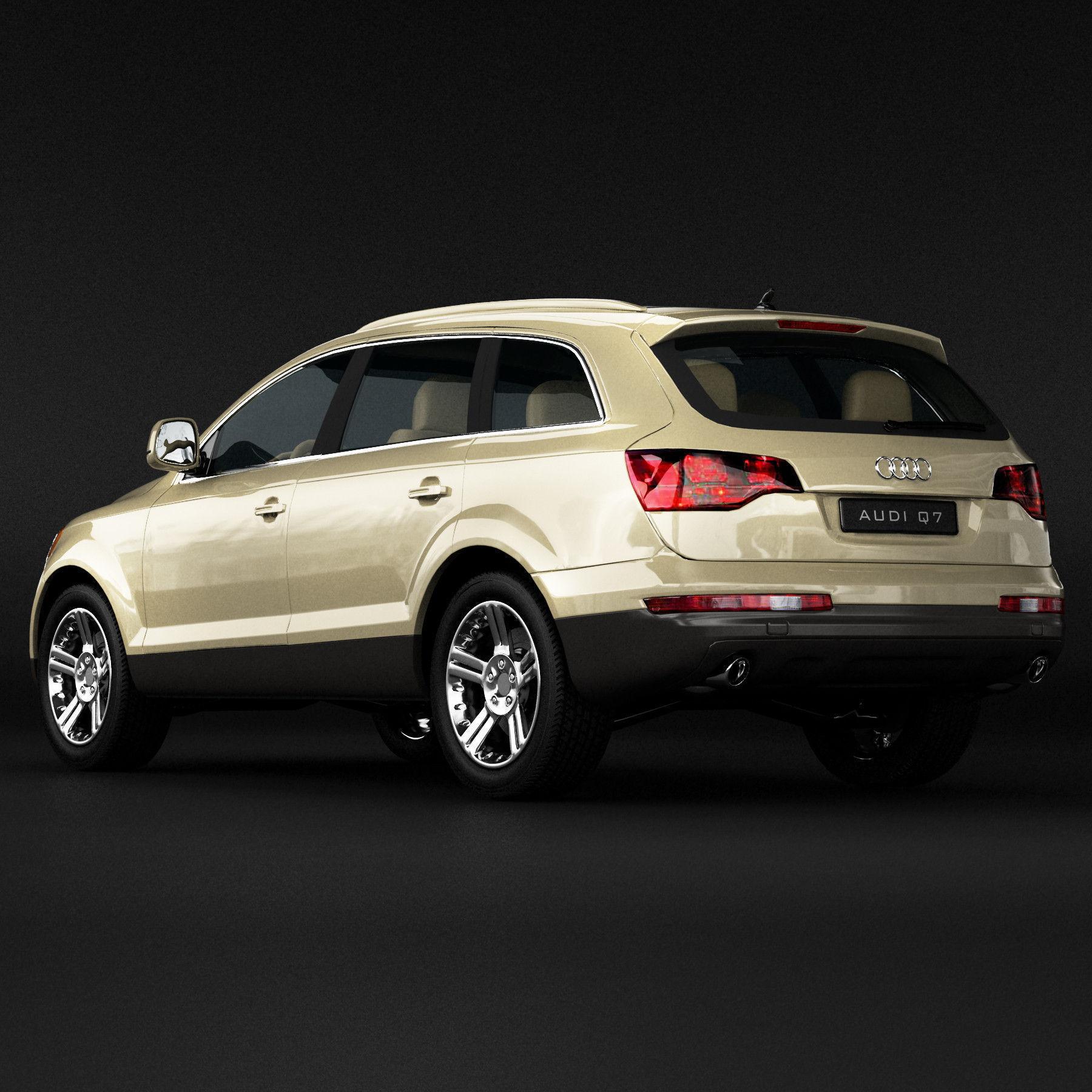 Audi Q SUV D Model CGTrader - Audi 3 suv
