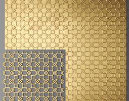 Panel lattice grille 3D 10