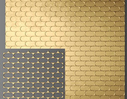 Panel lattice grille 3D 11