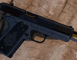 colt 1911 pistol 3d