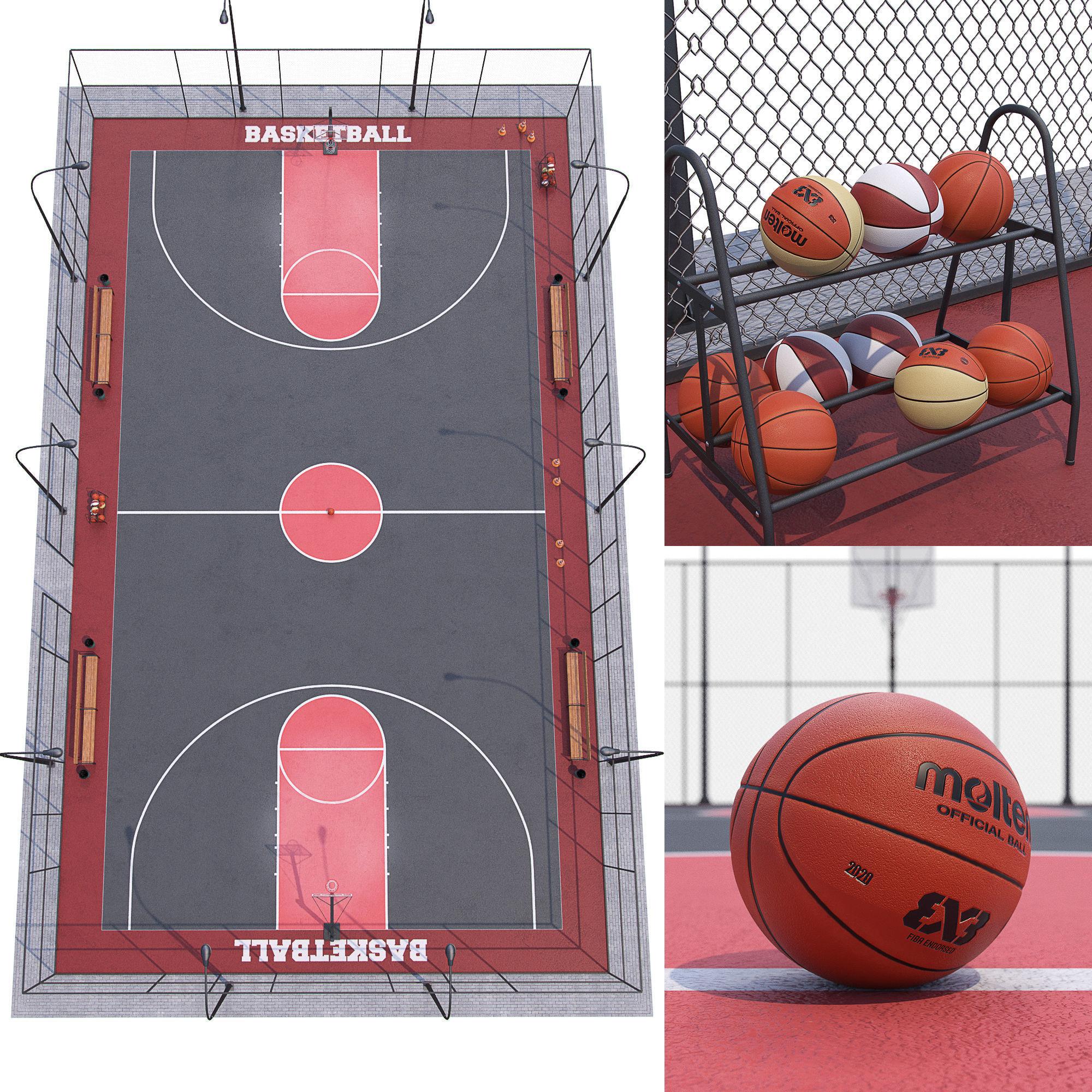 Basketball court Hq