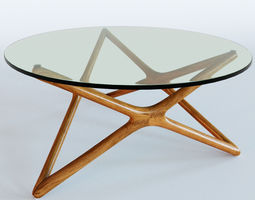 3D model architecture Linda Coffee Table