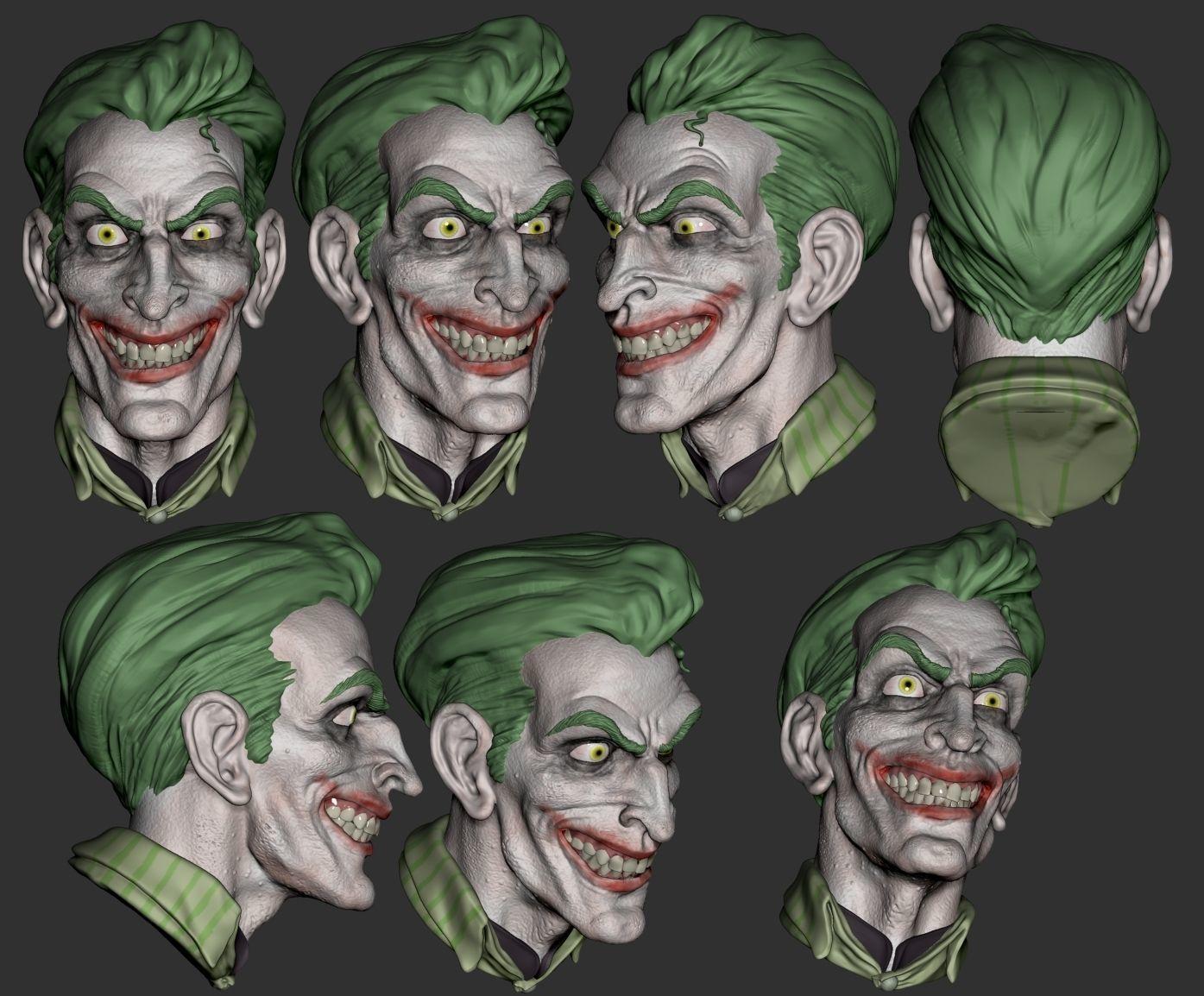 Joker keychain - STL