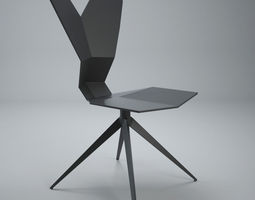 Tom Dixon Y CHAIR 3D model