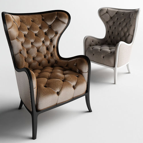 Charmant Medea Prestige Tufted Chair And Armchairs 3d Model Max Obj Mtl ...