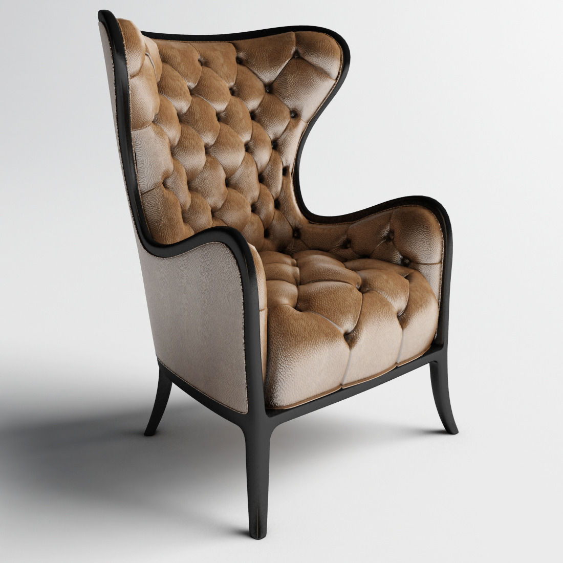 ... Medea Prestige Tufted Chair And Armchairs 3d Model Max Obj Mtl ...