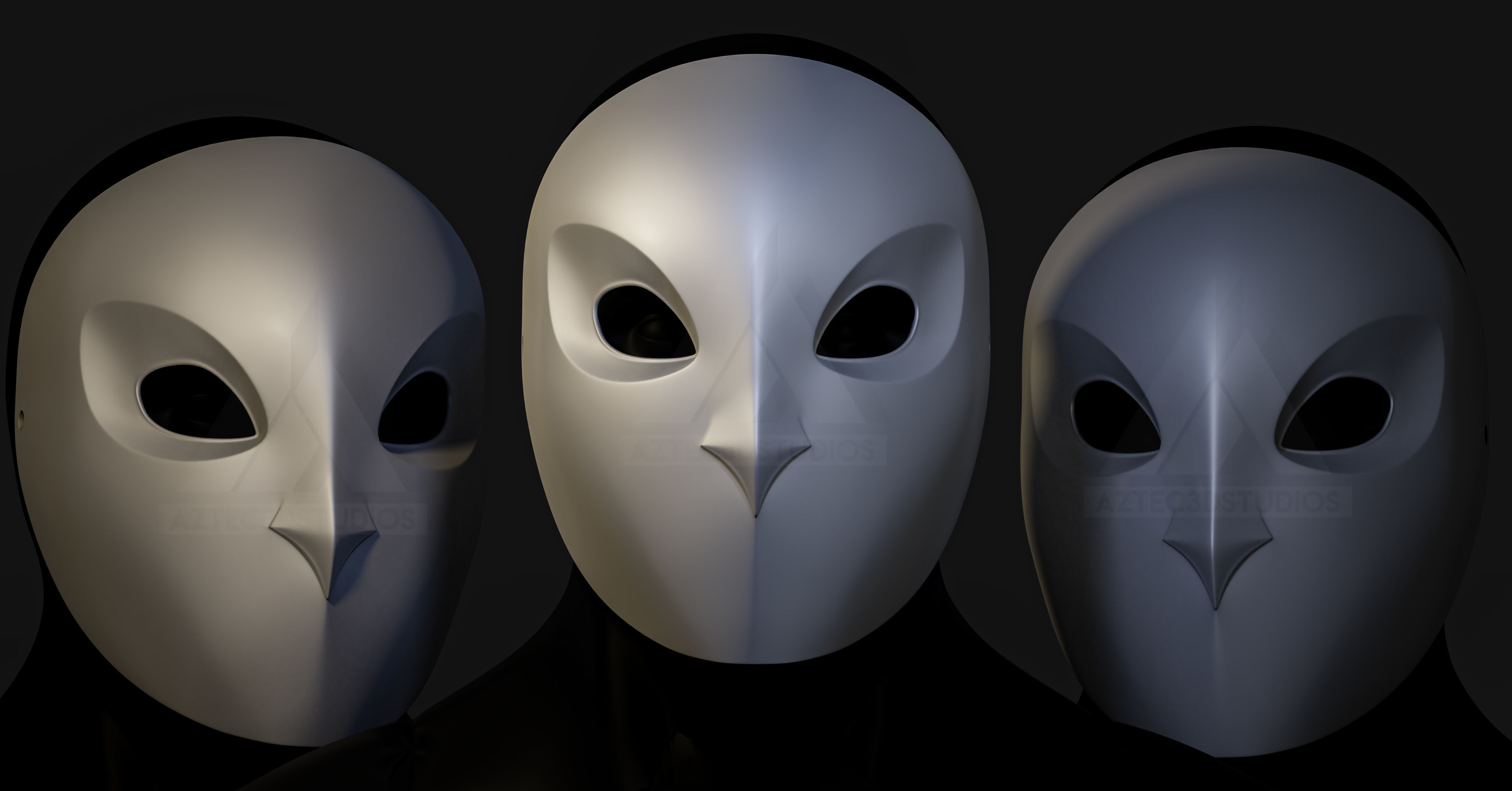 Gotham Knights Court Of Owls Mask 3d Printing Cgtrader
