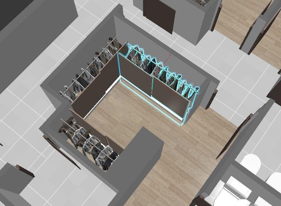 3d apartment floorplan 3d model max obj for Apartment model house
