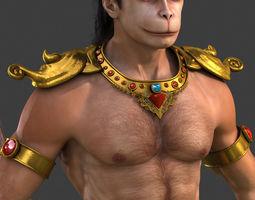 3D model Hanuman High Detailed