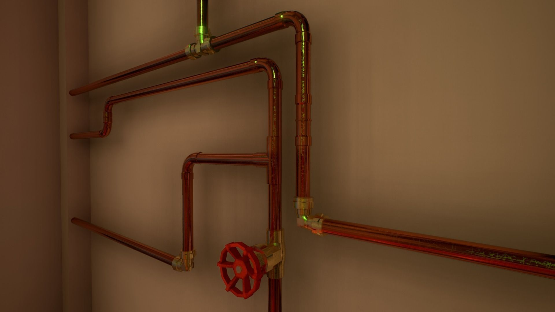 Pipes and ventilations