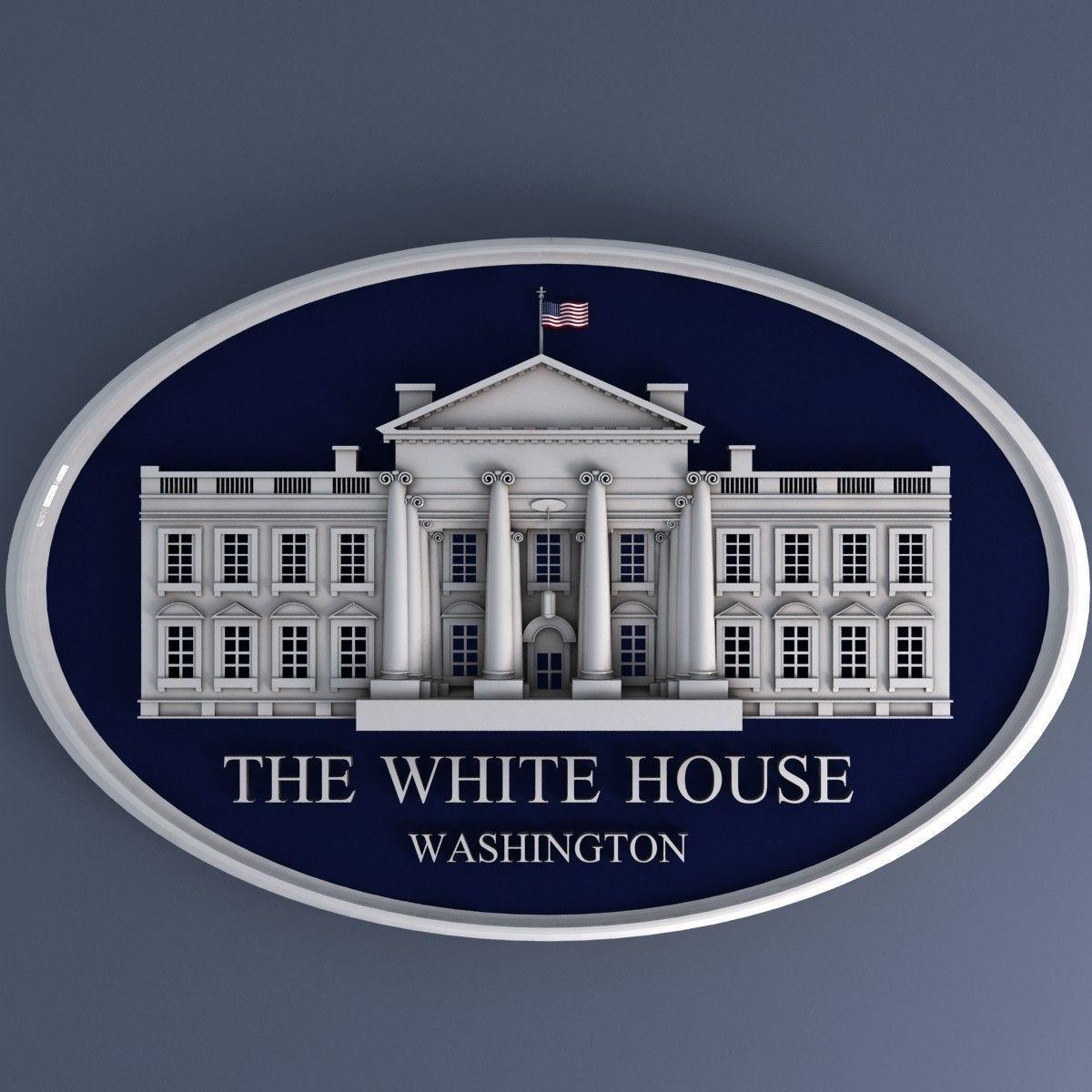 White House Sign