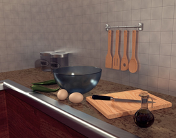 Kitchenware 3D