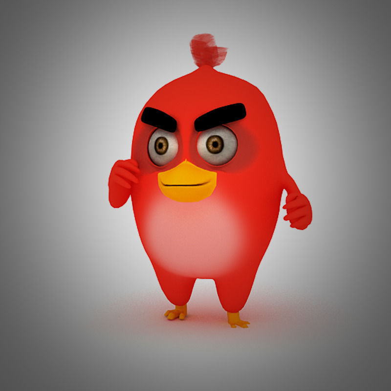 Angry Bird Red Bird Mood breaker