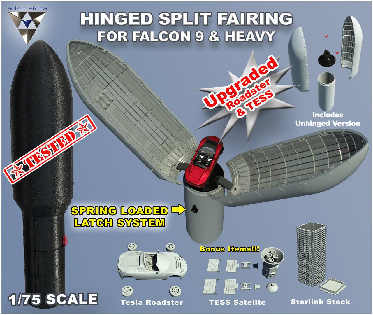 Falcon Fairing Upgrade
