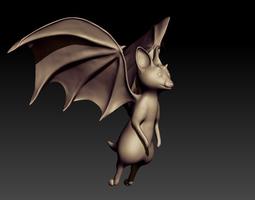 Bat Sculpt 3D Model